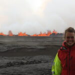 Thorbjörg at the Holuhraun eruption
